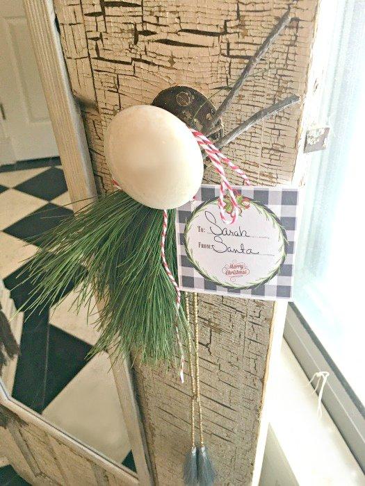 How an old door has a new purpose-gift-diy