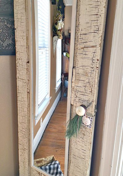 How an old door has a new purpose