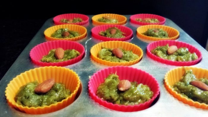 in the mood for green-muffins