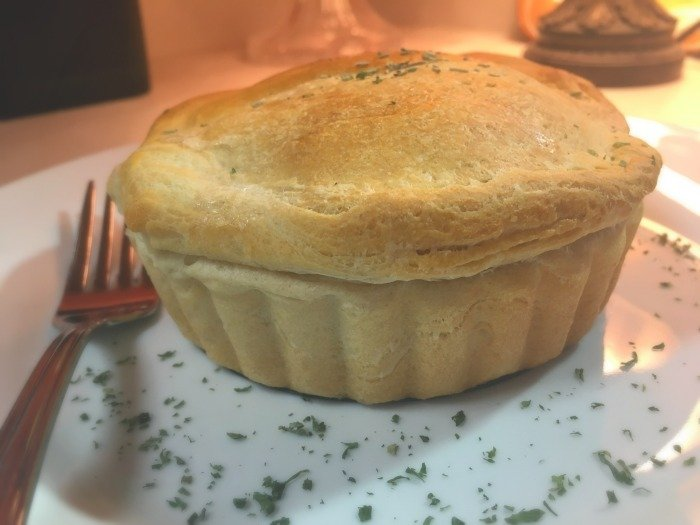 Easy Classic Chicken Pot Pies [mini servings]-single-serve