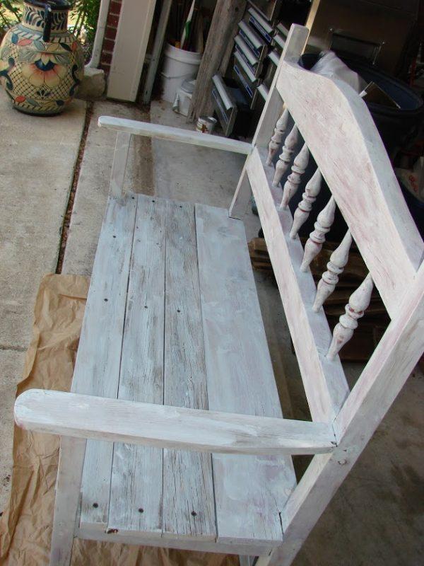 Bench makeover-primer