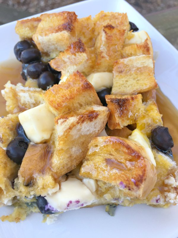 Overnight bread pudding goodness-yum