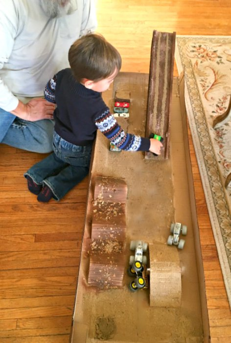 Fun activities for toddlers-track