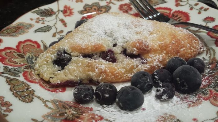 blueberry scones anyone-delish