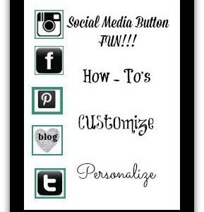 Create customized Social Media Buttons