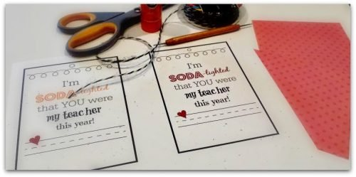 Thank a TEACHER with a FREE Printable-cut
