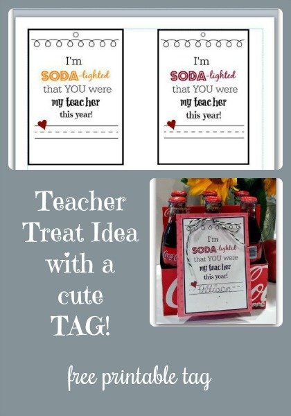 Thank a TEACHER with a FREE Printable-collage