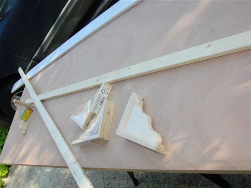 King Size Headboard project-supplies