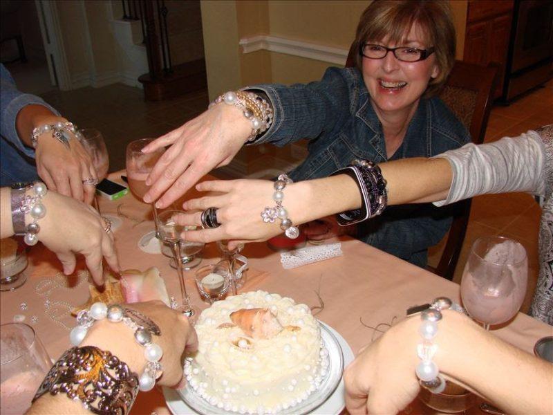 Bridal Brunch Shower-bracelets