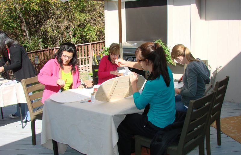 sunshine and crafts-paint