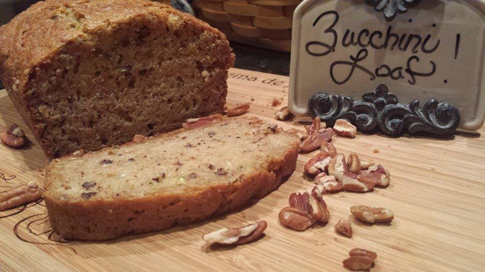 Zucchini bikini's-bread